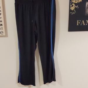 Black mesh pants xxl